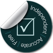 Independent free accurate green tick sticker