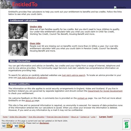 entitledto website2004