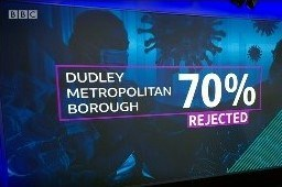 Newsnight 12 Jan 2021 data about Dudley Metropolitan Borough Test and Trace support payment